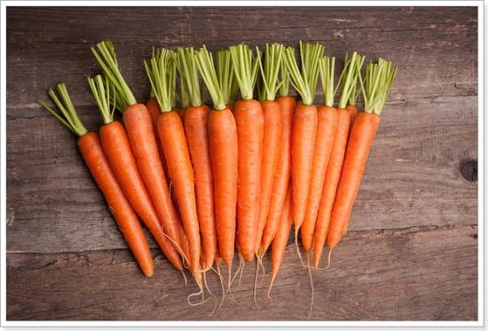 Обрезка ботвы моркови