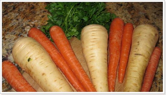 Пастернак и морковь