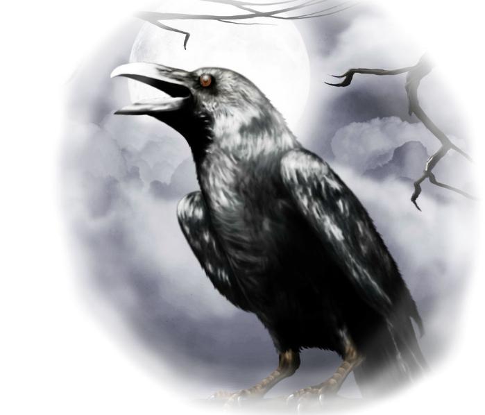 Народные предания о воронах