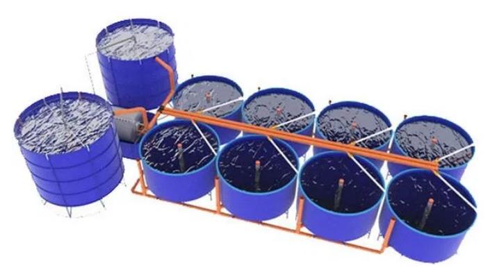 Оборудование для разведения стерляди